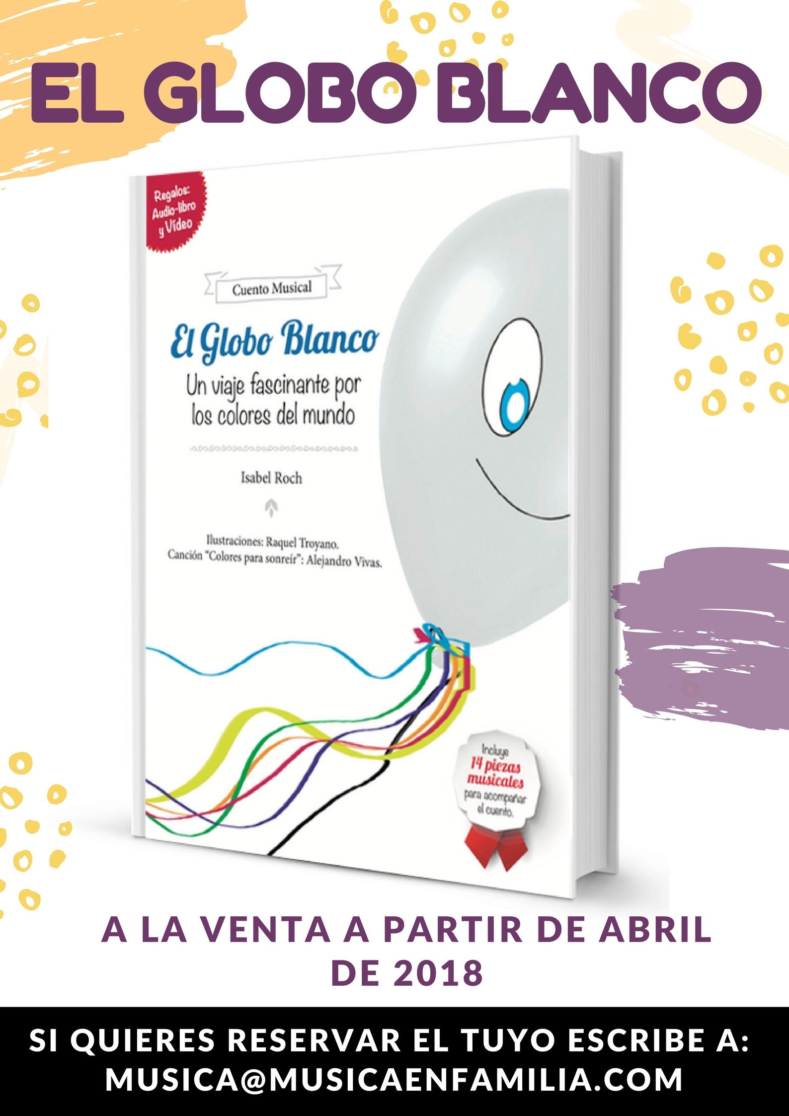 EL globo blanco cartel venta libro web