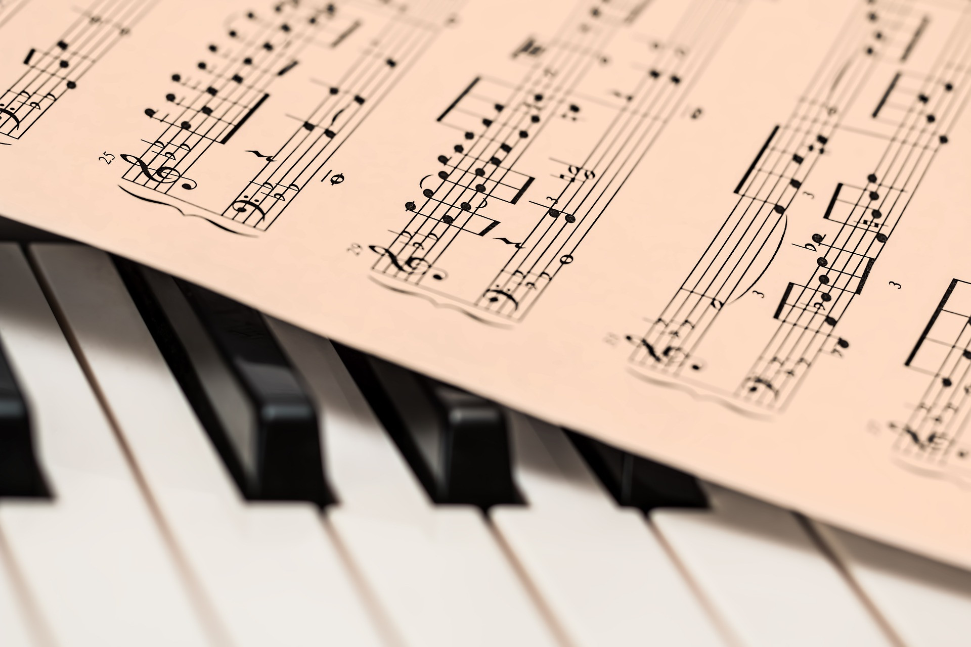 Piano partitura